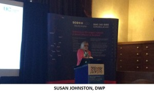 Susan Johnston DWP with title